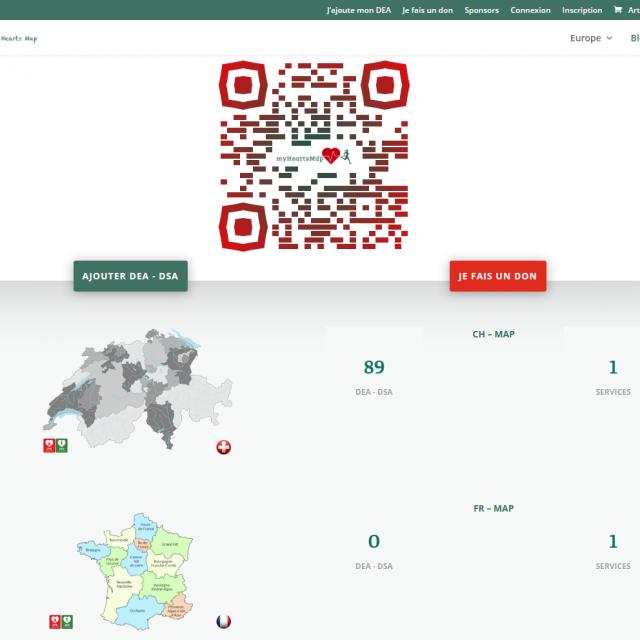 My Heart's Map   Association   Sauvons Plus de Vies